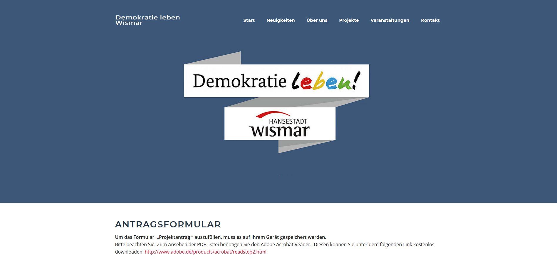 Demokratie leben Wismar